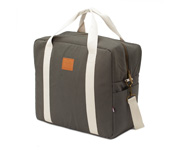 Borsa Week End Happy Family Grigio