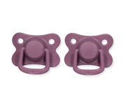 Pack 2 Chupetes Filibabba Moments Plum+6 Meses