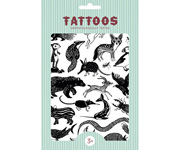 Tatuajes Temporales Black Animals