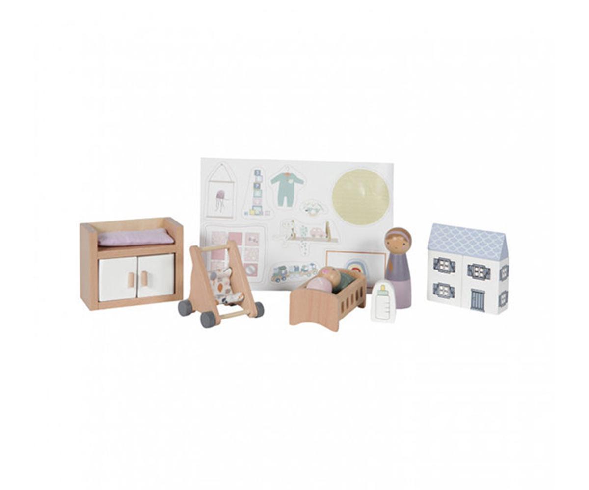 My Little Pony M.Y Baby 8 pezzi Bambole Set Accessori per il bagno e