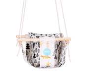 Altalena Baby Swing Natural Fox & Forest