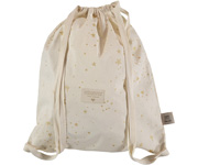 Mochila Saco Too Cool Gold Stella/Natural Personalizable