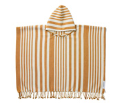 Poncho Roomie Stripes Mustard