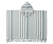 Poncho Roomie Stripes Sea Blue