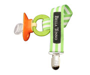 BT Limeade Stripes Soother Clip