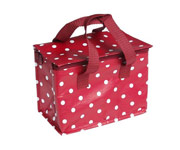 Red Dots Lunch Bag