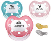 Chupetes Personalizados CLASSIC BabyAnimalitos +0M