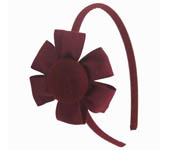 Garnet Flower Hairband Doo2