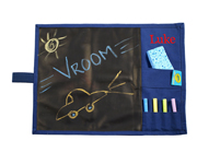 Blue Personalisable Chalkboard Placemat