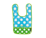 Blue Dots B13 Personalised Bib