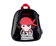 Personalisable Pirate Girl Backpack