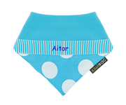 Blue Dots Q18 Personalised Dribbler