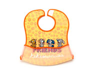 Kukuxumusu Friends Bib