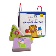 Shape Sorter Book Set