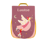 Girl and Elf School Bag