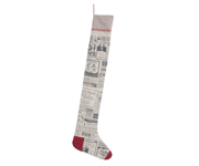 Newspaper Christmas Stocking