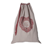 Personalisable Christmas Sack (Stripes)