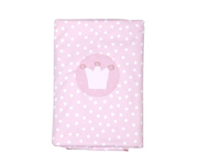 Pink Crown Personalisable Winter Blanket