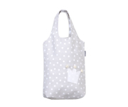 Grey Crown Personalisable Pique Bag