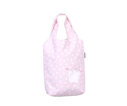 Pink Crown Personalisable Pique Bag