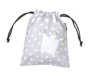 Grey Crown Personalisable Lunch Bag