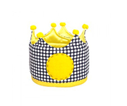 Large Blue & Yellow Crown