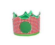 Small Red & Green Crown