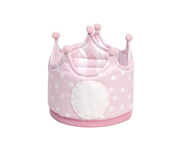 Large Pink Pique Crown