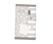 Grey Crown Personalisable Documents Holder