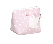 Pink Crown Toiletries Bag
