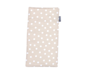 Personalisable Beige Dots Pique Cotton Towel