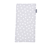 Personalisable Grey Dots Pique Cotton Towel