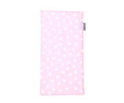 Personalisable Pink Dots Pique Cotton Towel