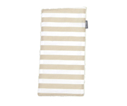 Personalisable Beige Stripes Pique Cotton Towel