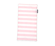 Personalisable Pink Stripes Pique Cotton Towel