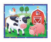 Puzzle On the Farm (12 pieces +2 Years)