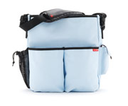SkipHop Duo Blue Stroller Bag