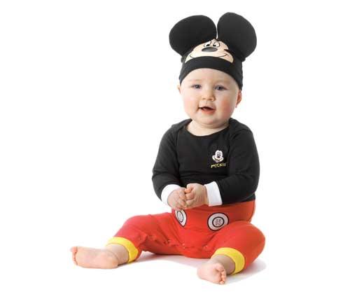 Fotos de bebés disfrazados de Mickey - Imagui