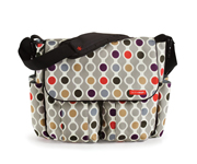 SkipHop DASH Wave Dot Stroller Bag