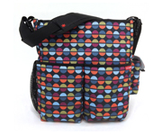 SkipHop Duo Sequins Stroller Bag