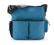 SkipHop DUO Teal Stroller Bag