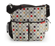 SkipHop DUO Wave Dot Stroller Bag
