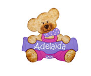 Adelaida Bear Name Board t.003.4