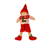 Christmas Doll (male) with Initial N003.2