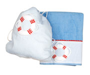 Nautical Towel and Bag