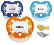 Personalized Pacifiers CLASSIC Fun Boy +6M