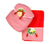 Rag Doll Towel and Bag