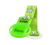 Personalised Stars Soother Clip
