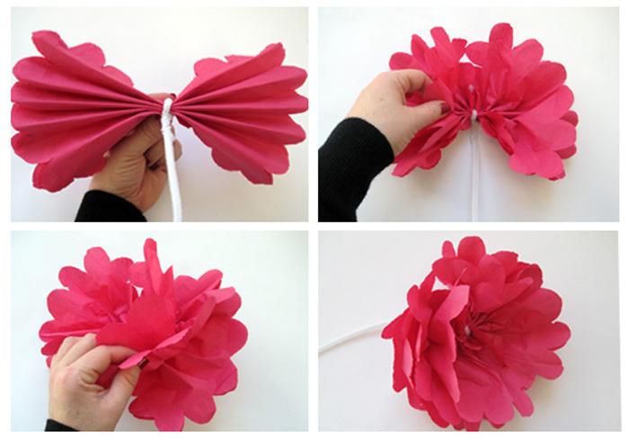 Flores de papel como se hacen imagui - Como se hacen flores de papel ...