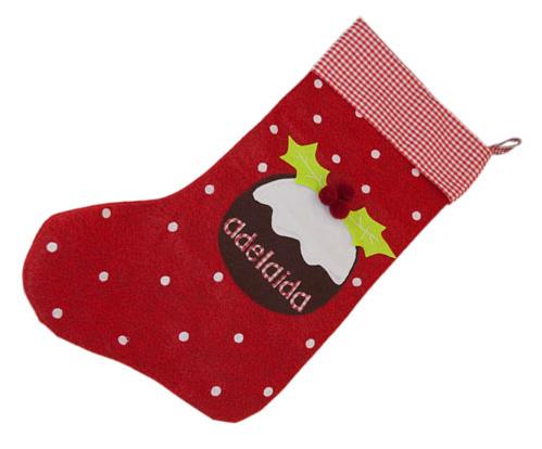 Doble raci n de inspiraci n navide a chupetes personalizados el blog de tutete - Calcetines de navidad personalizados ...